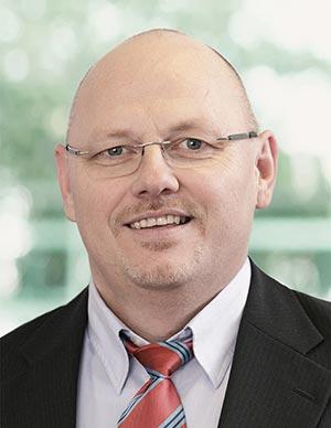 Der Serviceleiter Wolfgang Lang