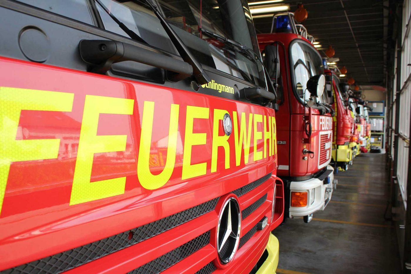 Retrofit Maßnahmen Feuerwehr Ingelheim