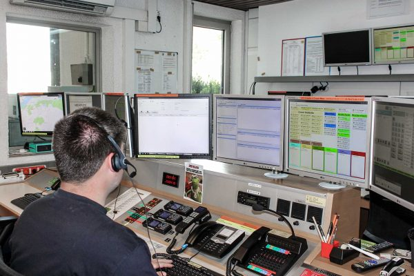 Wäre die Feuerwache in Ingelheim von einem Stromausfall betroffen, kann dank Notstromgenerator auch die FEZ autark weiter arbeiten.